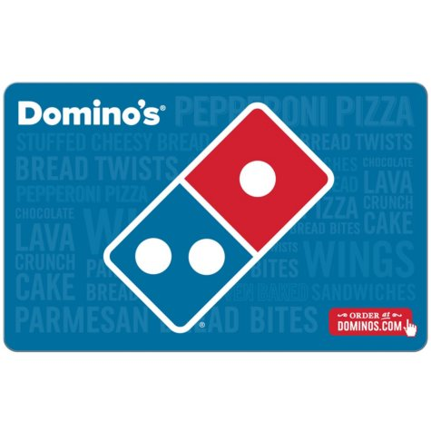 Domino's $50 eGift Card (Email Delivery)