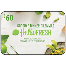 HelloFresh - $60 Value