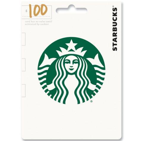 Starbuck's $100 Gift Card