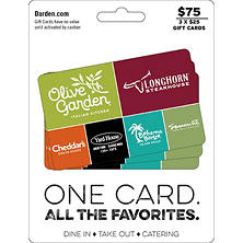 Best Seller Darden Universal Gift Cards