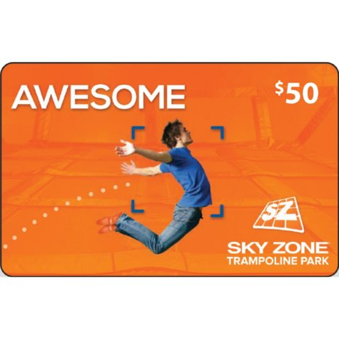 Sky Zone (Ft. Lauderdale, FL) $50 Gift Card