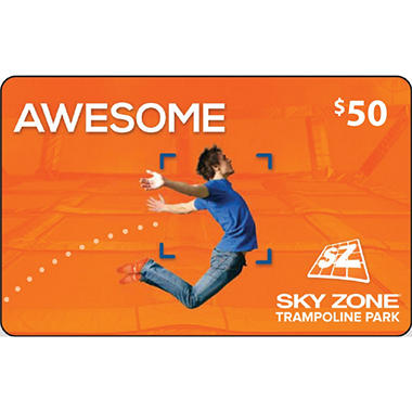 Sky Zone (Columbus, OH) $50 Value Gift Cards - 2 x $25