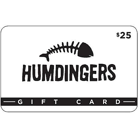 Humdingers Restaurant Gift Card - 2 x $25