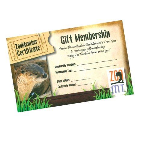 ZooMontana $89 Value Family Membership