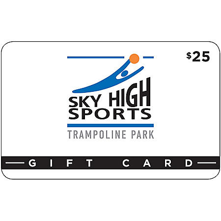 Sky High Sports Trampoline Park $50 Value Gift Cards - 2 x $25