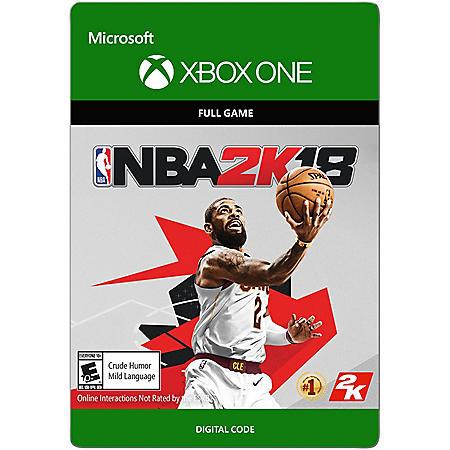 NBA 2K18 Full Game (Xbox One) - Digital Code