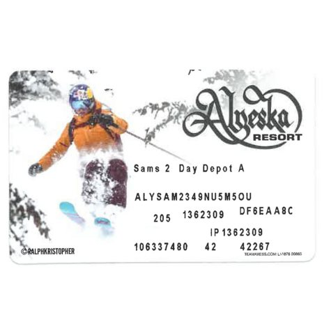 Alyeska Resort Two Day Lift Pass - $170 Value