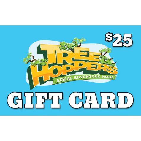 TreeHoppers Aerial Adventure Park $50 Value Gift Cards - 2 x $25