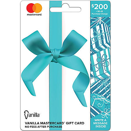 $200 Vanilla® Mastercard® Gift Card