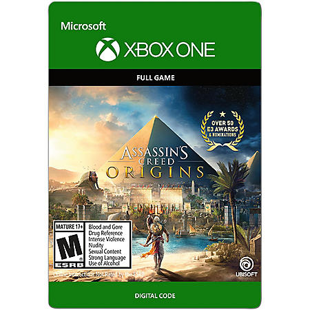 Assassin's Creed Origins: Standard (Xbox One) - Digital Code