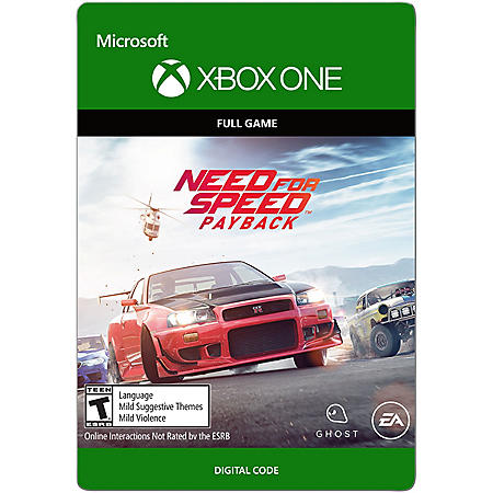Need for Speed: Payback Edition (Xbox One) - Digital Code