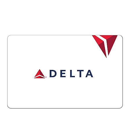 Delta Gift Card (Various Amounts)