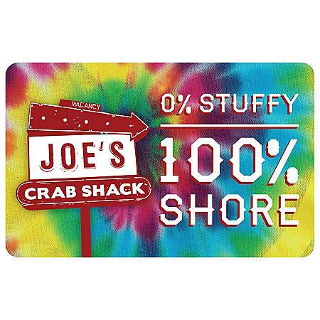 Joe' s Crab Shack $25 Gift Card