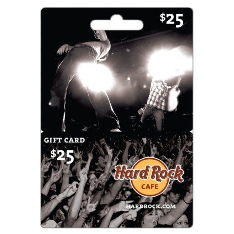 Hard Rock Café Gift Card - $25 Value