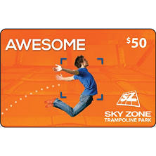 Sky Zone (Cincinnati) $50 Value Gift Cards - 2 x $25