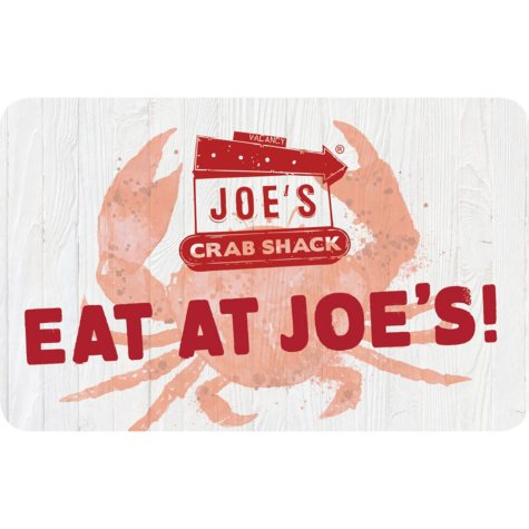 Joe's Crab Shack (Landry's) $120 Value Gift Cards - 2 x $50 Plus $20 Bonus