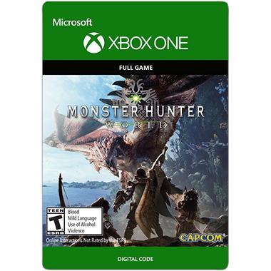 Monster Hunter World (Xbox One) - Digital Code - Sam's Club on