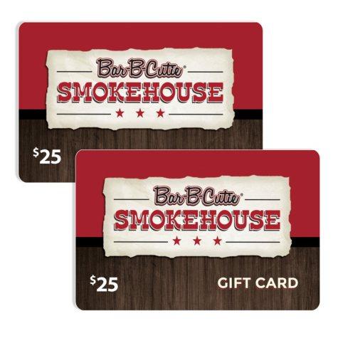 Bar-B-Cutie $50 Value Gift Cards - 2 x $25
