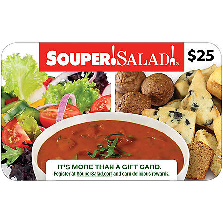 Souper Salad (AZ, NM, TX) $50 Value Gift Cards - 2 x $25