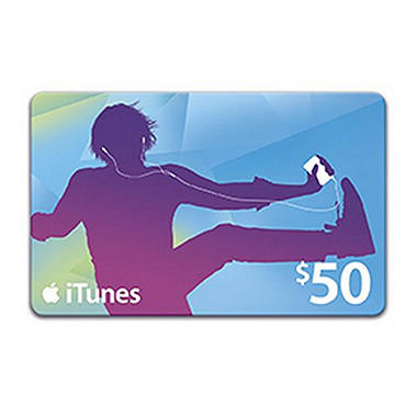 iTunes $50 Gift Card - Testing