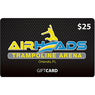 AirHeads Trampoline Arena (Orlando) $50 Value Gift Cards - 2 x $25
