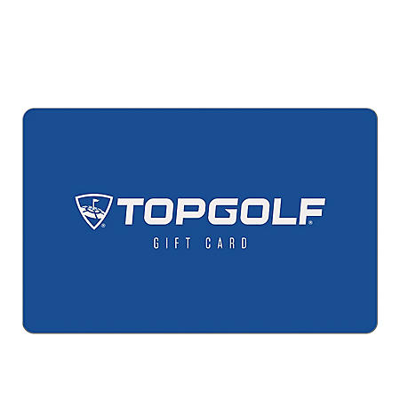 Topgolf eGift Cards (Email Delivery) - Various Amounts