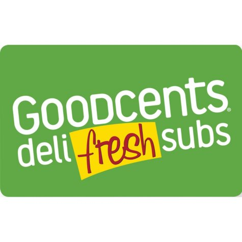Goodcents Deli Fresh Subs $50 Value Gift Cards - 2 x $25