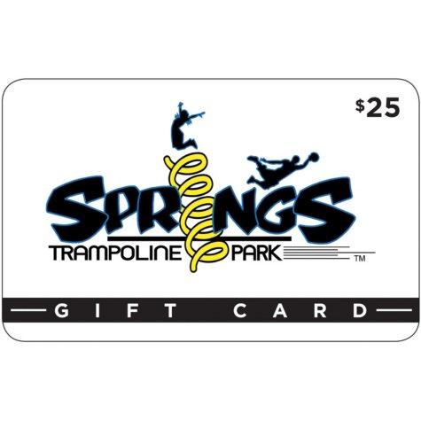 Springs Trampoline Park (Colorado Springs, CO) $50 Value Gift Cards - 2 x $25
