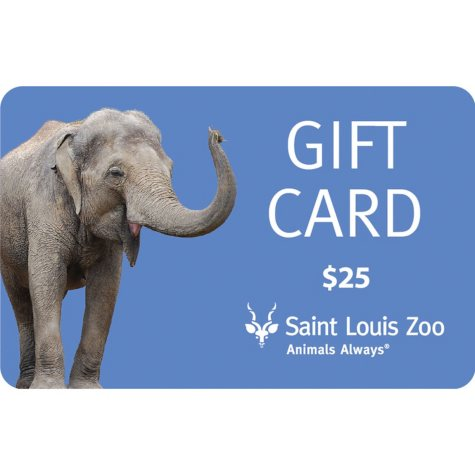 St. Louis Zoo (St. Louis, MO) $50 Value Gift Cards - 2 x $25