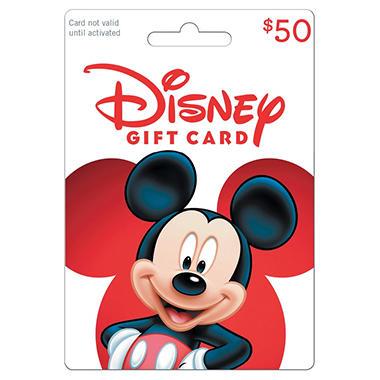 Disney 50 Gift Card Sam S Club