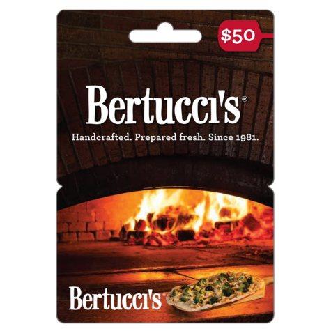 Bertucci's Gift Card - $50