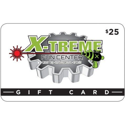 Xtreme Fun Center (Largo, FL) $50 Value Gift Cards - 2 x $25