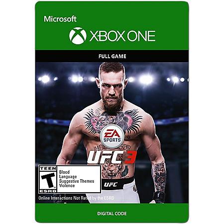 UFC 3: Standard Edition (Xbox One) - Digital Code