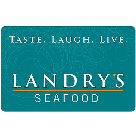 Landry's eGift Card - Various Amounts (Email Delivery)