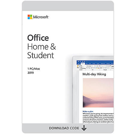 Microsoft Office 365 Home and Student 2019 - Sam's Club