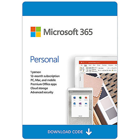 Office 365 Personal eGift Card (Email Delivery)
