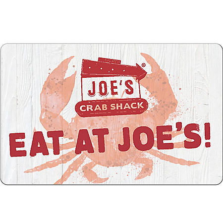 Joe's Crab Shack eGift Card - Various Values (Email Delivery)
