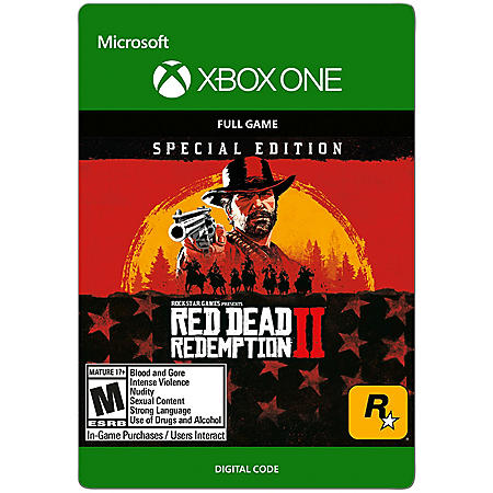 Red Dead Redemption 2: Special Edition (Xbox One) - Digital Code
