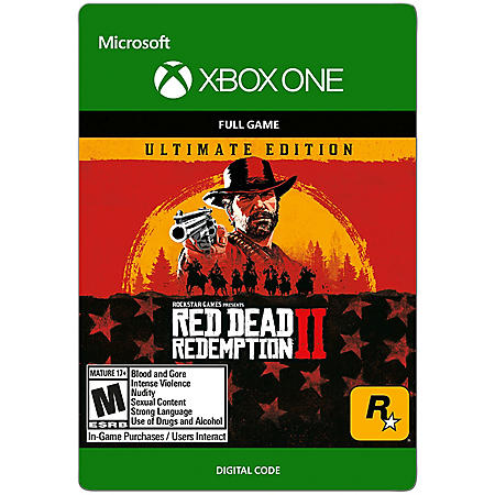 Red Dead Redemption 2: Ultimate Edition (Xbox One) - Digital Code