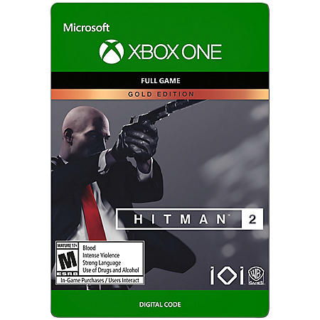 Hitman 2: Gold Edition (Xbox One) - Digital Code