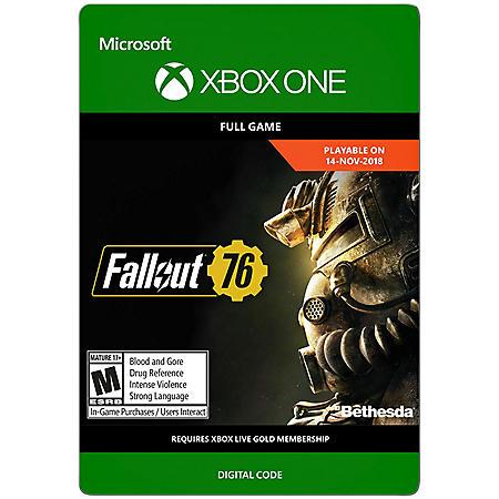 Fallout 76 (Xbox One) - Digital Code