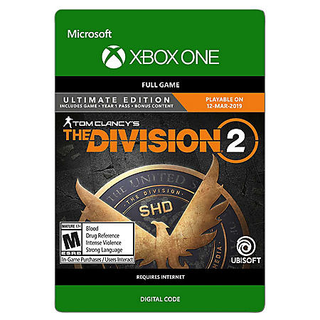 Tom Clancy's The Division 2: Ultimate Edition (Xbox One) - Digital Code