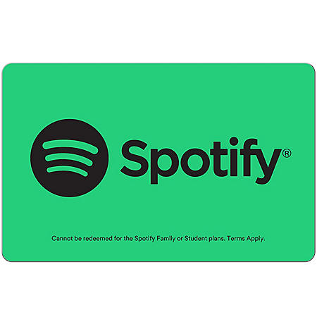 Spotify $99 Gift Card (Email Delivery)