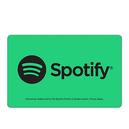 Spotify $120 Value Subscription - 2 x 6 months