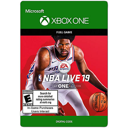 NBA Live 19 NBA Live 19 The One Edition (Xbox One) - Digital Code