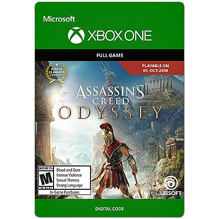 Assassin's Creed Odyssey: Standard Edition (Xbox One) - Digital Code