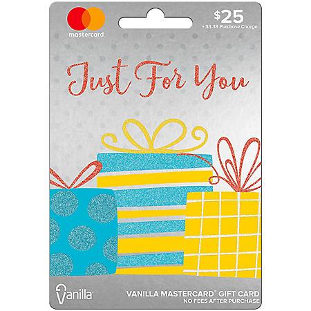 $25 Vanilla Mastercard® Gift Card