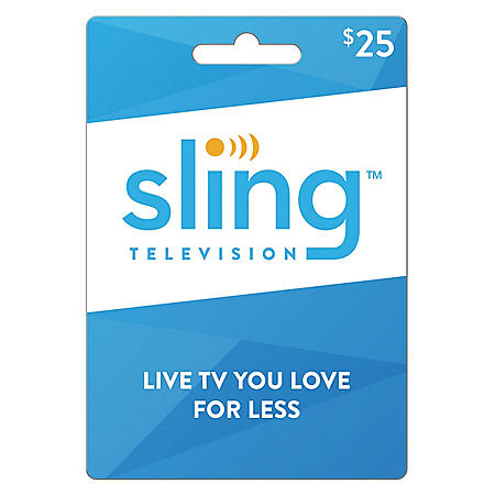 Sling TV Gift Card - Various Values