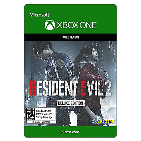 Resident Evil 2 Remaster,  Deluxe Edition (Xbox One) - Digital Code
