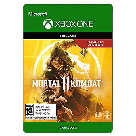 Mortal Kombat 11: Standard Edition (Xbox One) - Digital Code